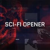 دانلود پروژه آماده افتر افکت تریلر نمایشگر علمی تخیلی Sci-Fi Opener