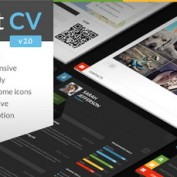 دانلود قالب رزومه و نمونه کار ShiftCV برای وردپرس