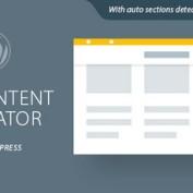 ایجاد نوار پیشمایش سفارشی در وردپرس با افزونه Site Content Navigator