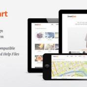 دانلود قالب HTML و چندمنظوره SmartStart به صورت HTML