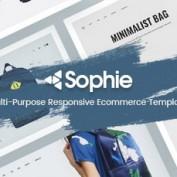 دانلود قالب فروشگاهی Sophie برای اپن کارت