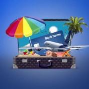 دانلود پروژه آماده افتر افکت سفرهای تابستانه Summer Travel Logo