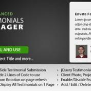 اسکریپت نمایش نظرات مشتریان Testimonial Manager