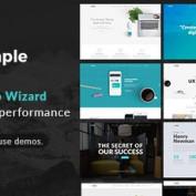 دانلود قالب شرکتی The Simple برای وردپرس