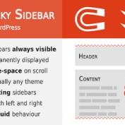 ایجاد نوار چسبان در وردپرس با افزونه Theia Sticky Sidebar