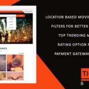 اسکریپت خرید آنلاین بلیط سینما Ticket Bazzar