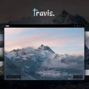 دانلود قالب عکاسی Travis به صورت HTML