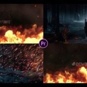 دانلود پروژه آماده افتر افکت تریلر با افکت آتش Ultimate Fire Trailer