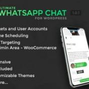 افزونه وردپرس چت و پشتیبانی از طریق واتساپ Ultimate WhatsApp Chat