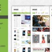 دانلود قالب فروشگاهی Unicase برای ووکامرس