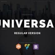 دانلود قالب شرکتی Universal برای وردپرس