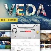 دانلود قالب چندمنظوره VEDA برای وردپرس