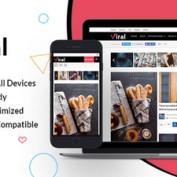 دانلود قالب مجله ای Viral برای وردپرس