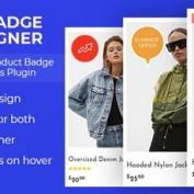 افزونه طراحی نشان برای محصولات ووکامرس Woo Badge Designer