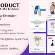 افزونه نمایش محصولات به صورت لیست و گرید در ووکامرس WOO Product Grid/List Design