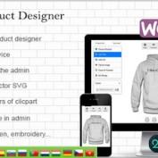 افزونه طراحی سفارشی محصولات ووکامرس WooCommerce Custom Product Designer