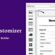 افزونه سفارشی سازی قالب ایمیل ووکامرس WooCommerce Email Customizer