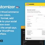 افزونه شخصی سازی ایمیل ووکامرس Email Customizer PRO