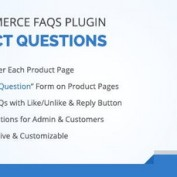 افزونه نمایش سوالات متداول در ووکامرس WooCommerce FAQ Plugin