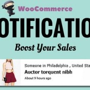 افزونه اطلاع رسانی از طریق نوتیفیکیشن در ووکامرس WooCommerce Notification