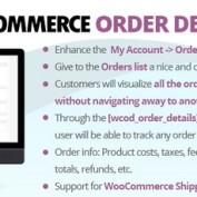 افزونه مشاهده جزئیات سفارش ها در ووکامرس WooCommerce Order Details