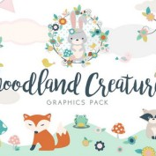 fantasy-forest-and-animals-vector-pack