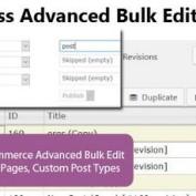 ویرایش دسته جمعی در وردپرس با افزونه WordPress Advanced Bulk Edit
