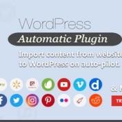 افزونه ارسال مطالب اتوماتیک WordPress Automatic Plugin