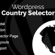 افزونه وردپرس انتخاب زبان و کشور بازدیدکنندگان Country Selector