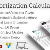 افرونه محاسبه وام و اقساط در وردپرس Amortization Calculator