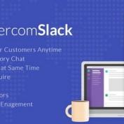 افزونه پیام رسان اسلک برای وردپرس WP Intercom