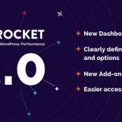 افزونه افزایش سرعت سایت وردپرسی WP Rocket