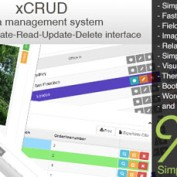 اسکریپت مدیریت اطلاعات xCRUD