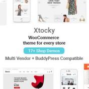 دانلود پوسته فروشگاهی Xtocky برای ووکامرس