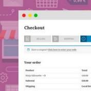 افزونه تسویه حساب چند مرحلهای در ووکامرس YITH WooCommerce Multi-step Checkout