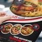 دانلود طرح لایه باز تراکت تبلیغاتی رستوران و فست فود