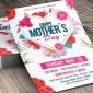 طرح لایه باز تراکت و پوستر روز مادر با فرمت PSD