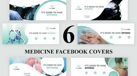 دانلود 6 کاور فیس بوک به صورت لایه باز Facebook Cover