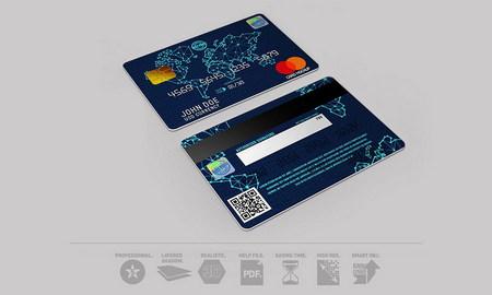 موکاپ کردیت کارت و کارت بانکی (کارت عابر بانک) با فرمت PSD