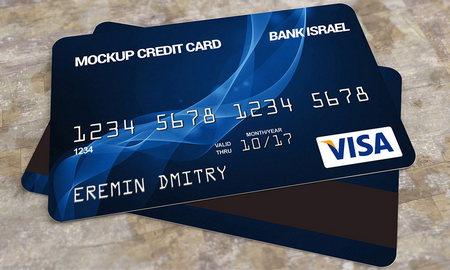 دانلود موکاپ کارت بانکی (عابر بانک) با فرمت PSD