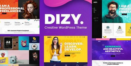 دانلود قالب Dizy   قالب نمونه کار برای وردپرس