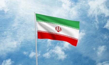 موکاپ پرچم در باد به صورت لایه باز و فرمت PSD