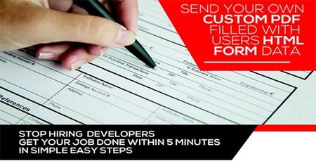 تبدیل فرمها به PDF در وردپرس با افزونه Form Generating PDF