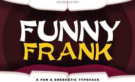 دانلود رایگان فونت Funny Frank   به همراه وب فونت اورجینال