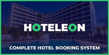 اسکریپت مدیریت جامع و پیشرفته هتل Hoteleon