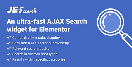 ایجاد ابزارک جستجوی در صفحهساز Elementor با افزونه JetSearch