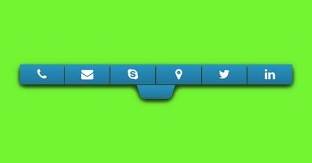 ساخت نوار تماس در موبایل با افزونه Mobile Contact Bar