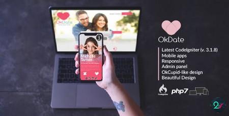 اسکریپت جامعه دوستیابی OKDate نسخه 3.2 + اپلیکیشن موبایل