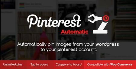 افزونه پین خودکار مطالب وردپرس در پینترست Pinterest Automatic