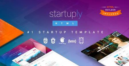 قالب HTML چند منظوره Startuply